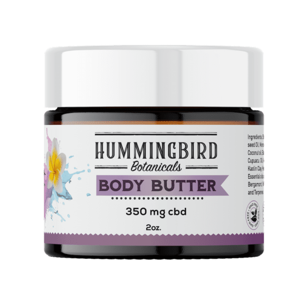 hemp infused body butter