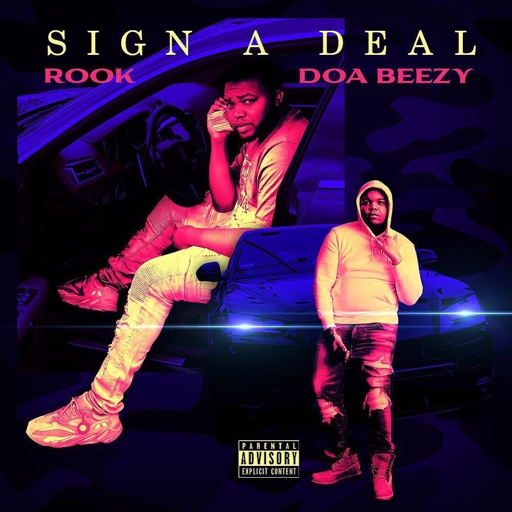 """Atlanta rapper Rook links up with Chicago's Doa Beezy for """"Sign A Deal"""""""