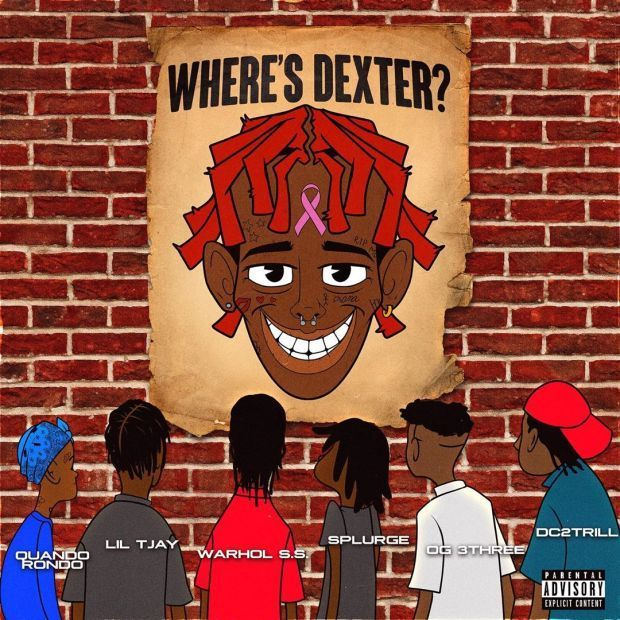 """Famous Dex Drops New Mixtape, """"Where's Dexter?"""", featuring Quando Rondo, Lil Tjay, Warhol.SS, DC2Trill And More."""