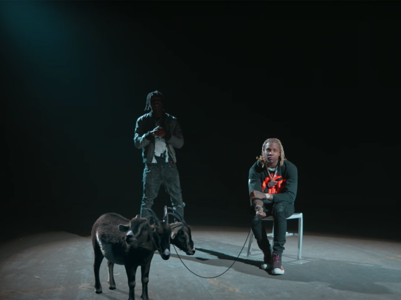 """Lil Durk Holds """"3 Headed Goat"""" in New Visual with Polo G and Lil Baby"""