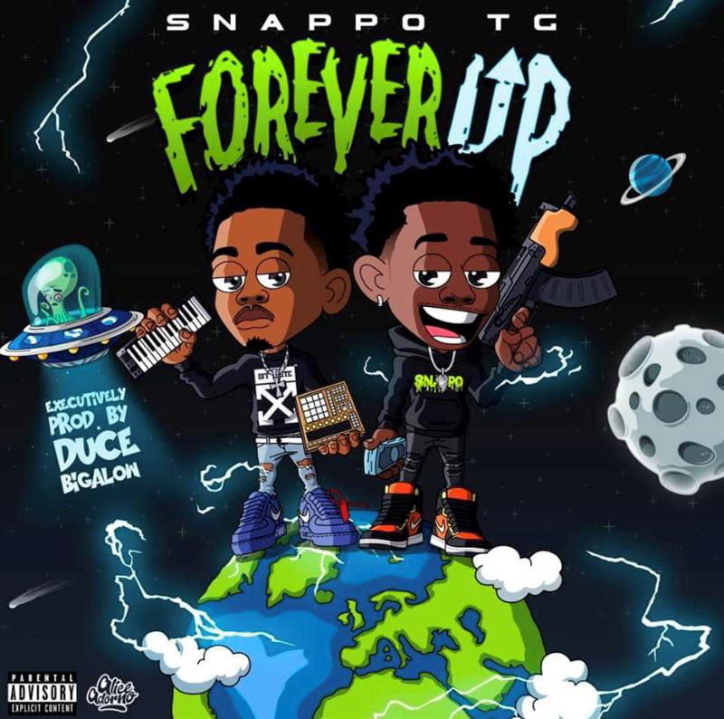 "Sixteen-year-old Rap Phenom Snappo TG Drops His Debut Mixtape ""Forever Up"""