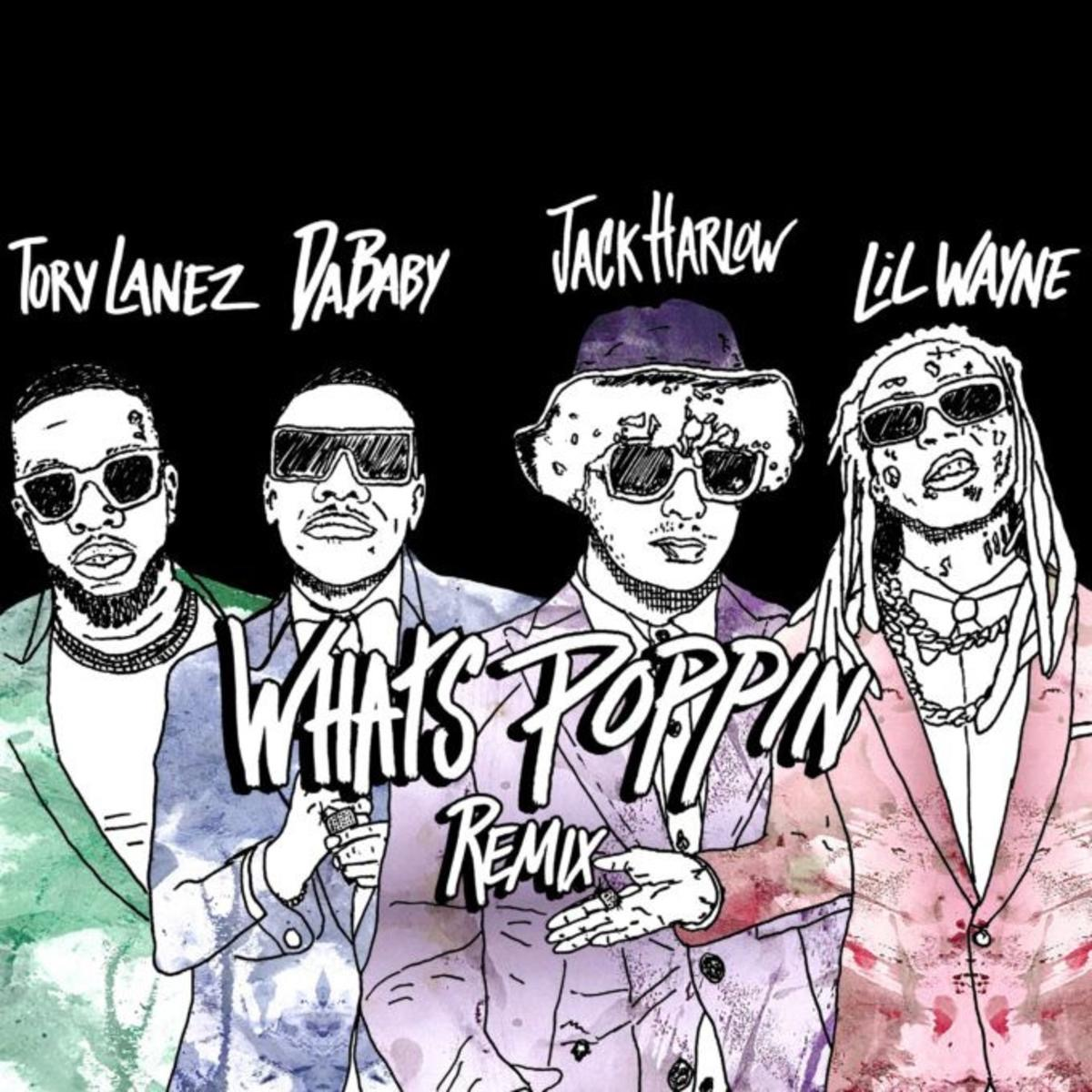 """Jack Harlow Recruits Rap's Elites for """"WHATS POPPIN (Remix)"""