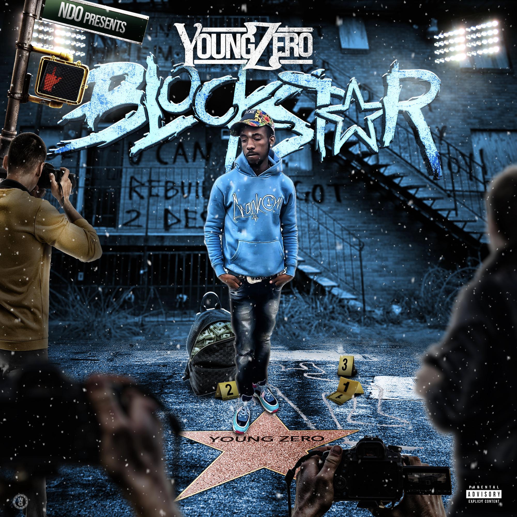 "Young Zero releases ""Blockstar"" featuring Yung Mal & Boosie Badazz"