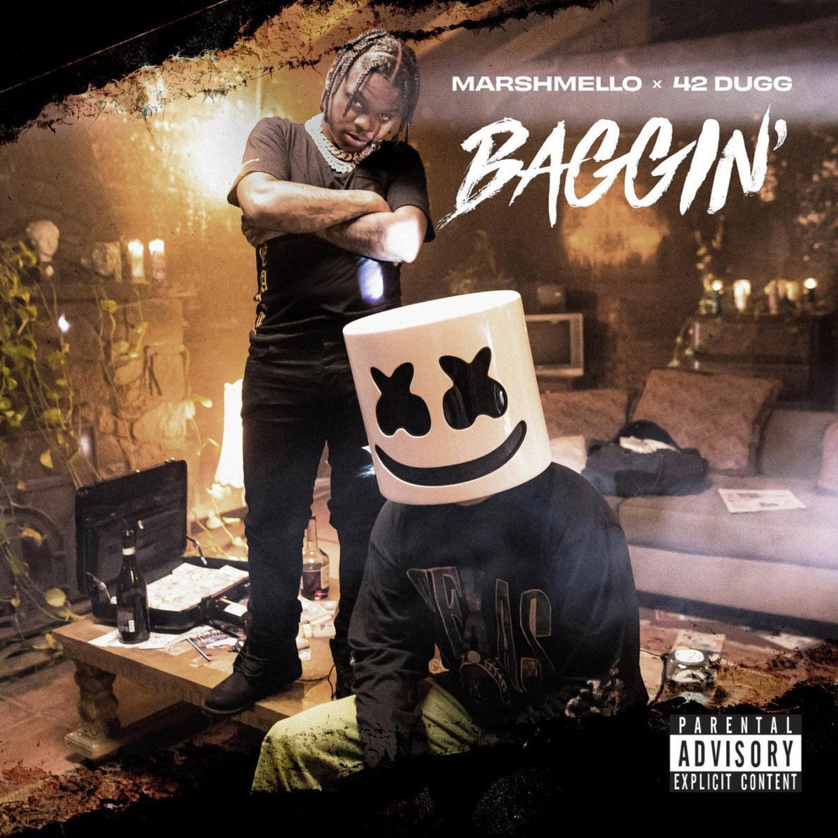 """42 Dugg Recruits Marshmello For """"Baggin'"""""""