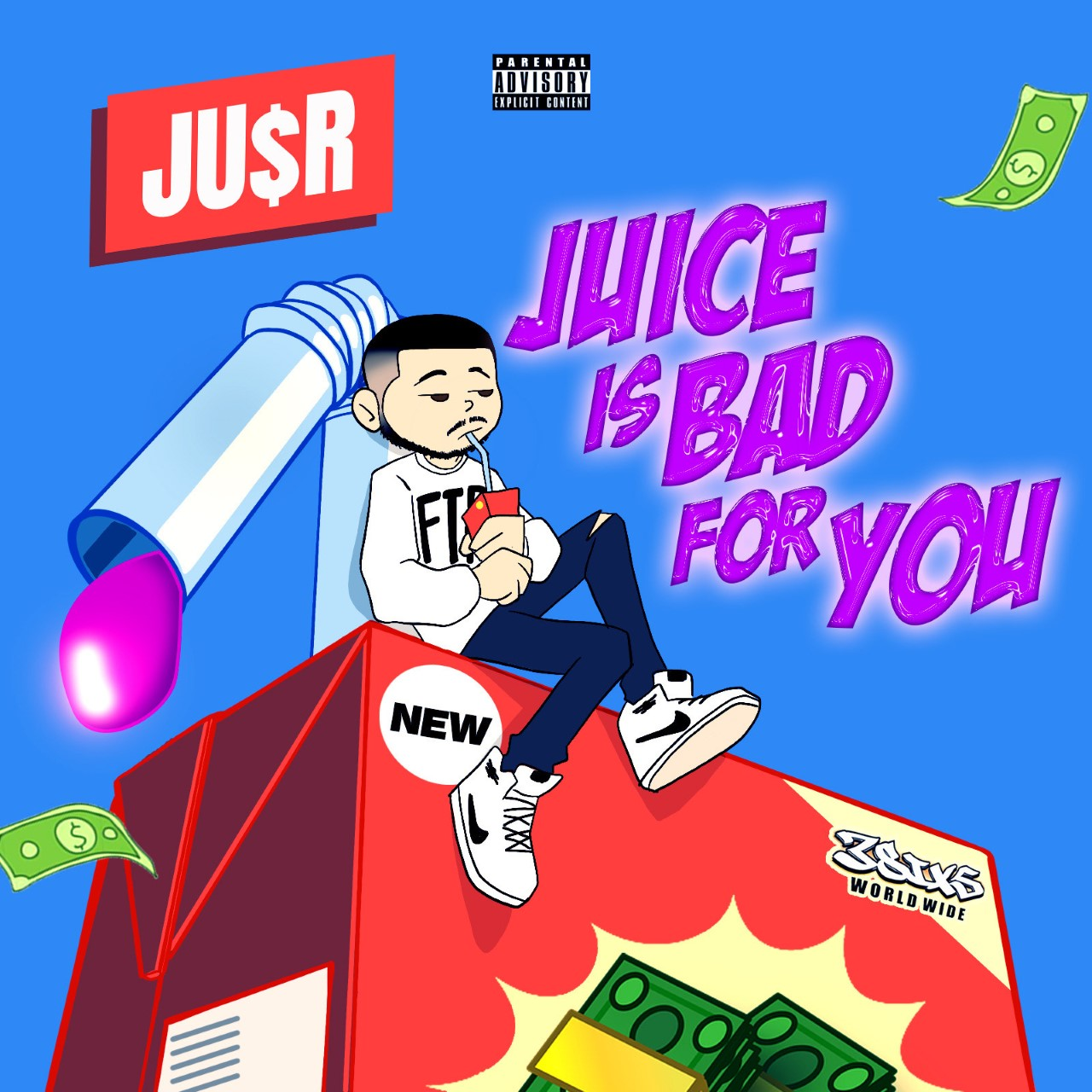 """Ju$r drops new project """"Juice Is Bad for You"""""""