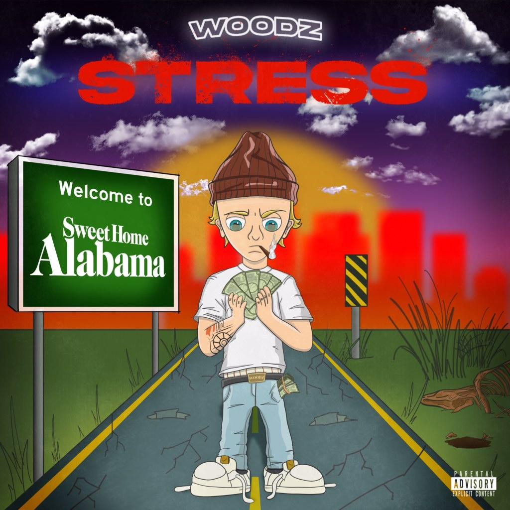 "Alabama's Woodz Drops New Track ""Stress"""