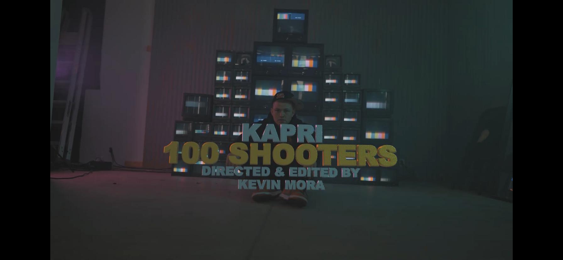 "KAPRI Sends Shots On ""100 Shooters"""