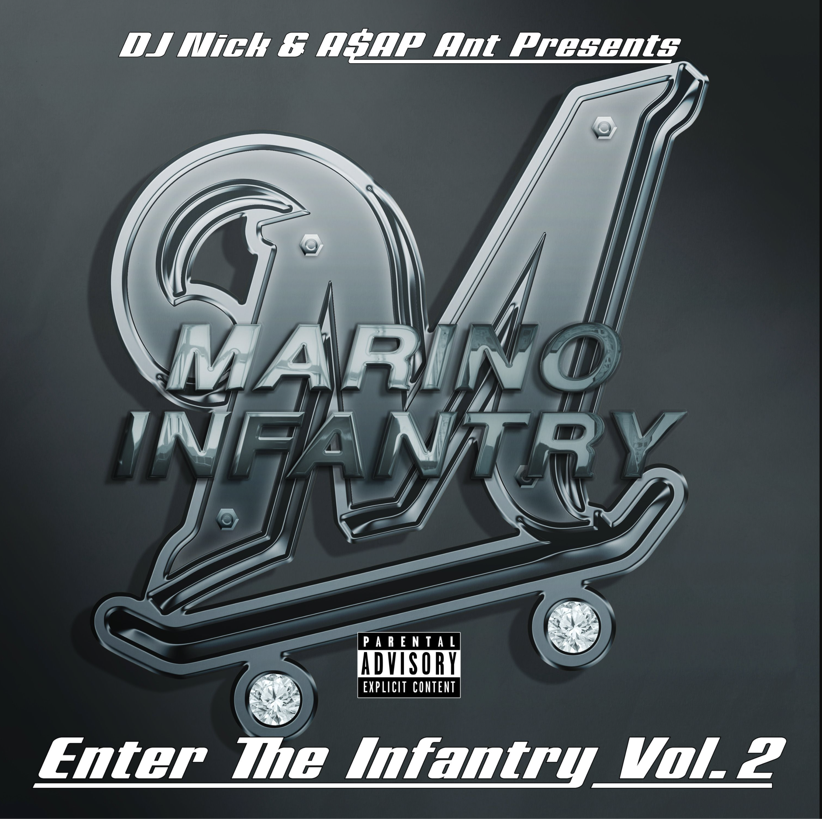 DJ Nick and A$AP Ant Present: Marino Infantry: 'Enter the Infantry, Vol. 2'