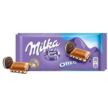 Milka Chocolate Oreo 3.5oz (100g) 22/100g