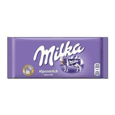 Milka Milk Chocolate Alpine Alpenmilch 3.5oz (100g) 24/100g