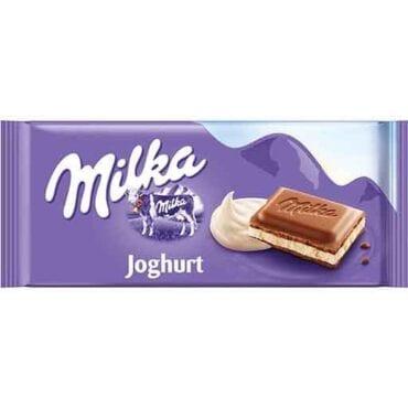 Milka Milk Chocolate Yogurt-Filled 3.5oz (100g) 23/100g