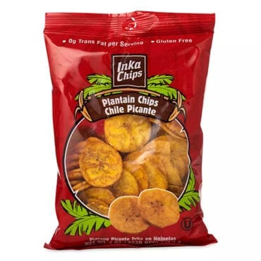 Inka Chips Plantain Chili Picante 12/4 oz