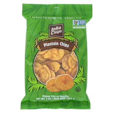 Inka Chips Plantain Original 12/4 oz