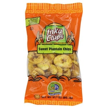 Inka Chips Plantain Sweet 12/3.4 oz
