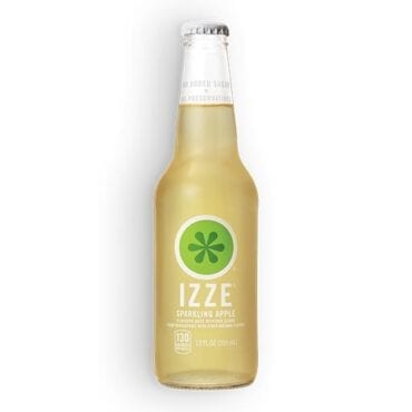 IZZE Sparkling Juice Apple 24/12oz