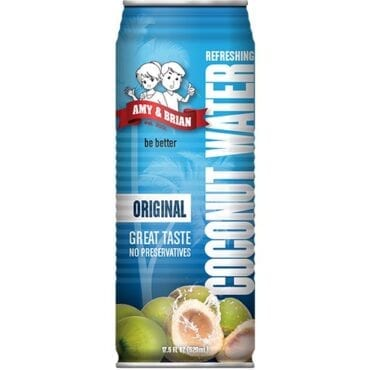 Amy & Brian Coconut Water Original 12/17.5oz