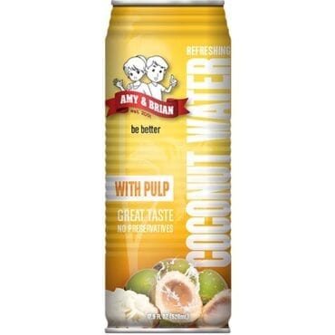 Amy & Brian Coconut Water with Pulp 12/17.5oz