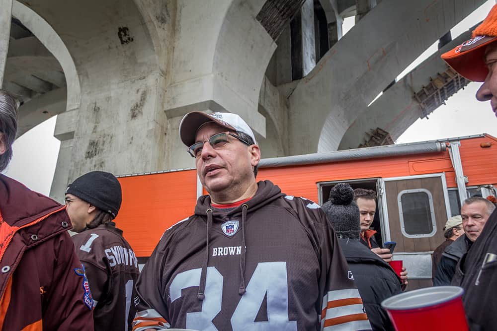 Mike Benny Jaworski Meats Social Events Cleveland Browns Tailgate Parties