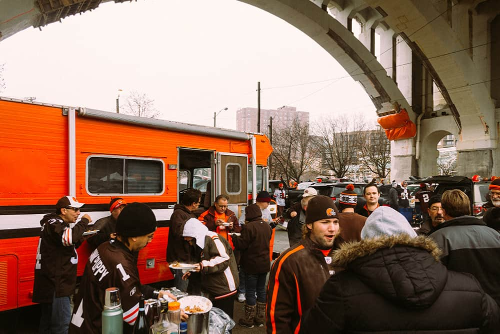 The Gang Jaworski Meats Social Events Cleveland Browns Tailgate
