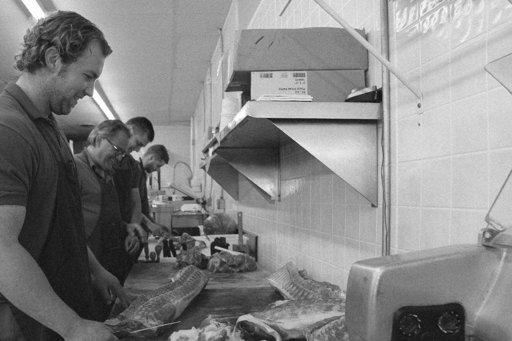 Jaworski Meats Employee Staff