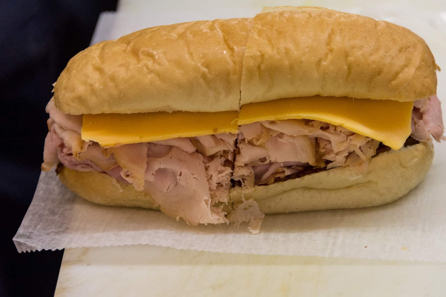 Jaworski Meats Turkey Sub