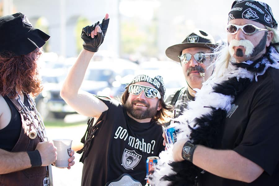Raiders Fans GET OUT Jaworski Meats Social Events Cleveland Browns Tailgate