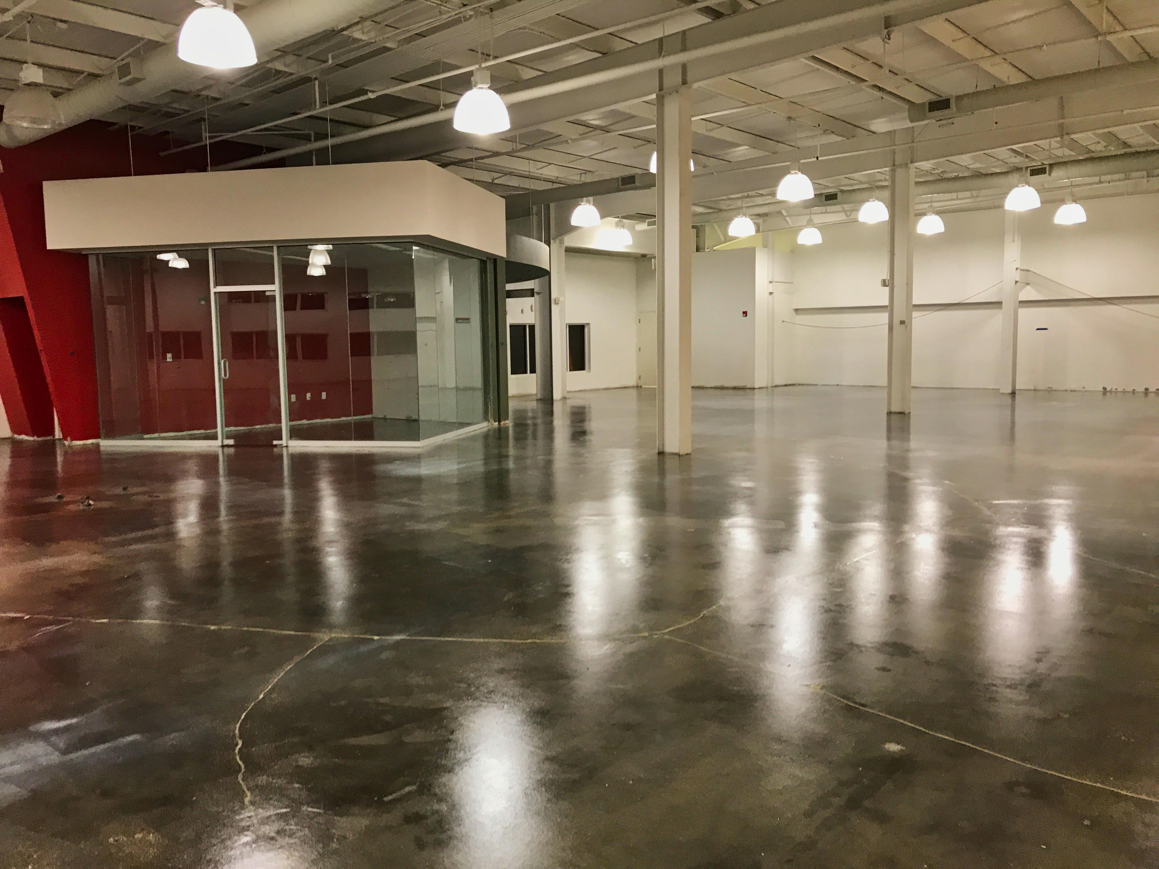 Polished and Semi-Polished Stained Flooring