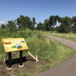 Natural History marker installation