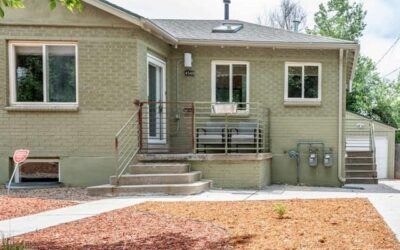 SOLD: Beautiful Half-brick Duplex in Sloans Lake