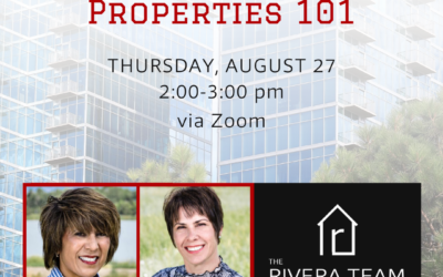Investment Property 101 – August