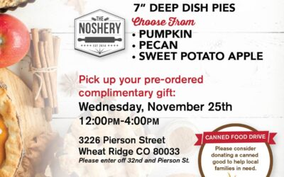 RSVP For Our Thanksgiving Pie Giveaway