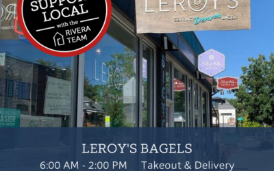 Support Local: Leroy's Bagels