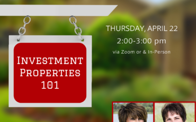 Investment Property 101 – April
