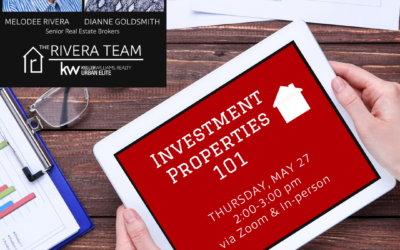 Investment Property 101 – May