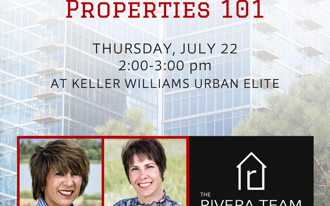 Investment Property 101 – July Post