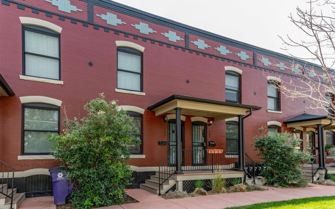 PENDING: Classic Brick Rowhouse in Curtis Park