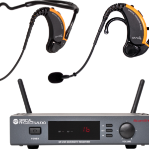 Dual EVO2-25D1 Wireless Mic system
