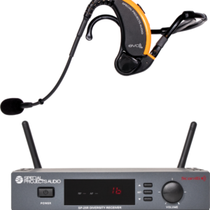 Evo Wireless Headset & Scan16 Receiver