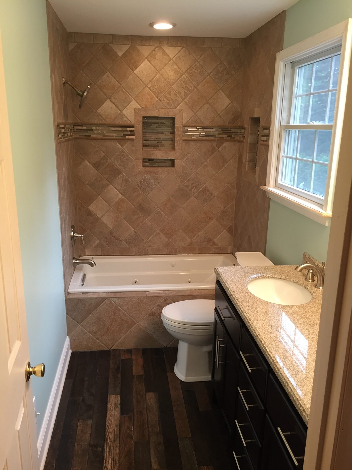 Bathroom flooring and upgrade