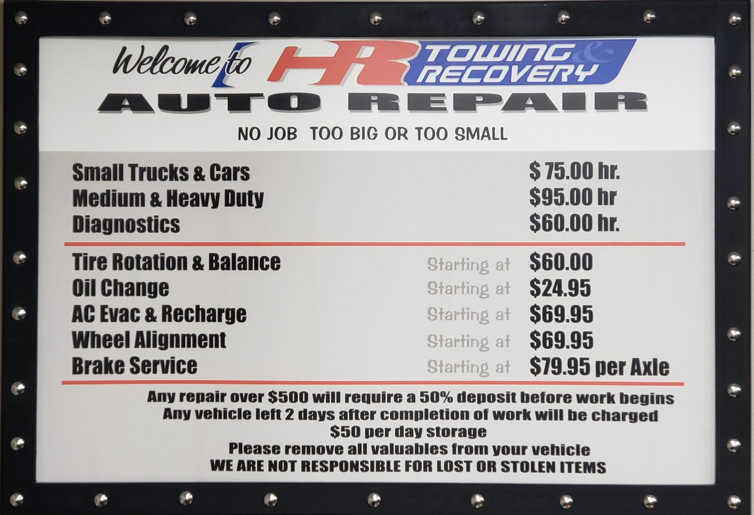CR Auto Repair