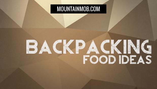 backpacking food ideas