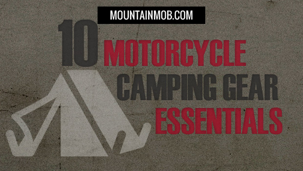 motorcycle camping gear list