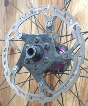 oil on brakes fix