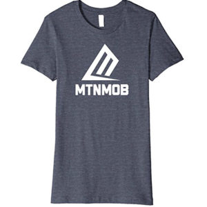 mtnmob basic tee heather blue