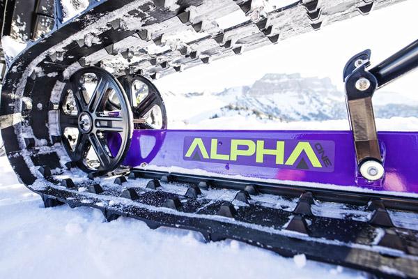 alpha one single beam rail