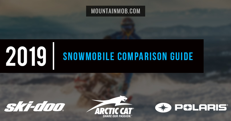 polaris ski-doo arctic 2019 snowmobile comparison