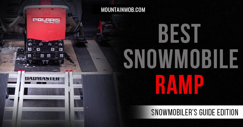 best snowmobile ramp