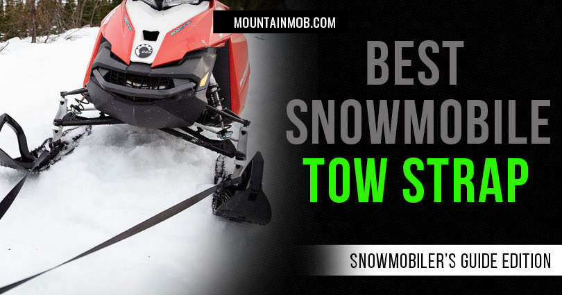 best snowmobile tow strap