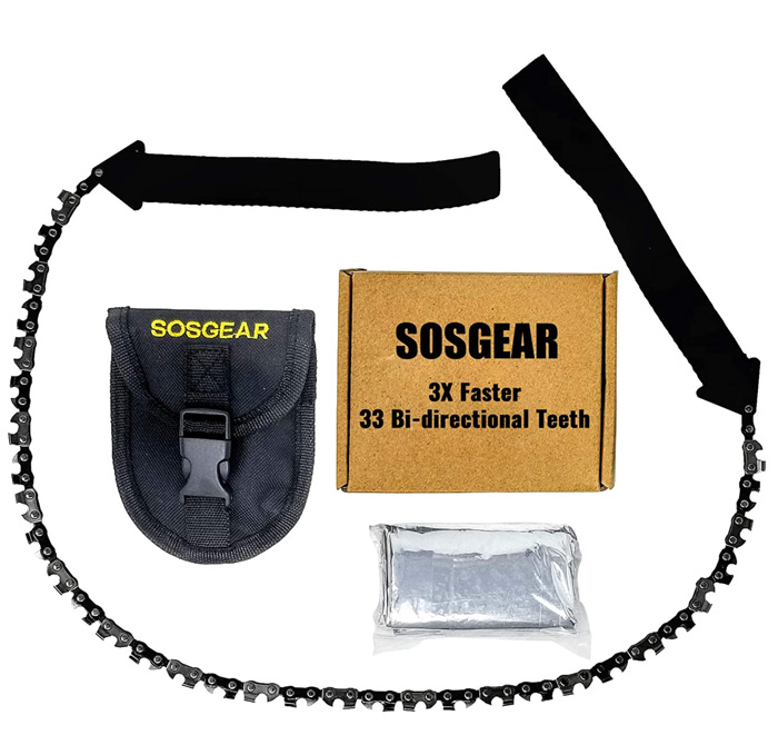 Best pocket chainsaw sosgear
