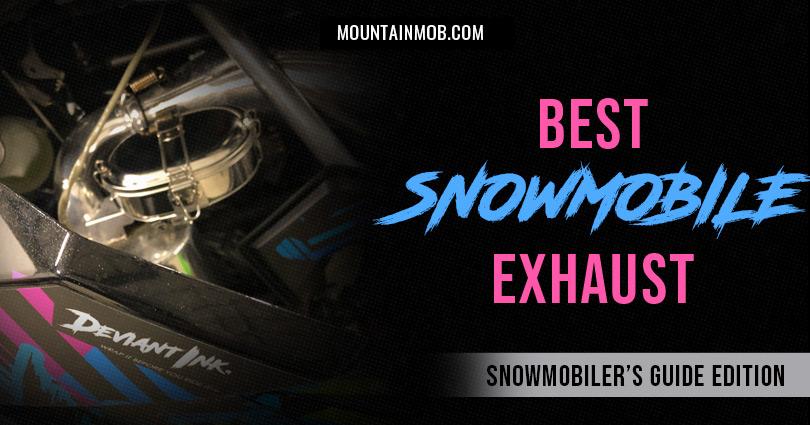 best snowmobile exhaust